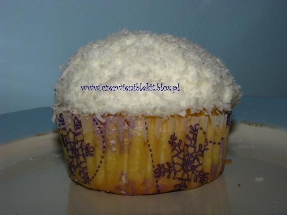 Muffinki migdałowo-kokosowe