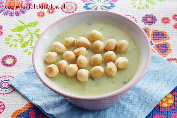 Zupa ziemniaczano-serowa z parmezanem